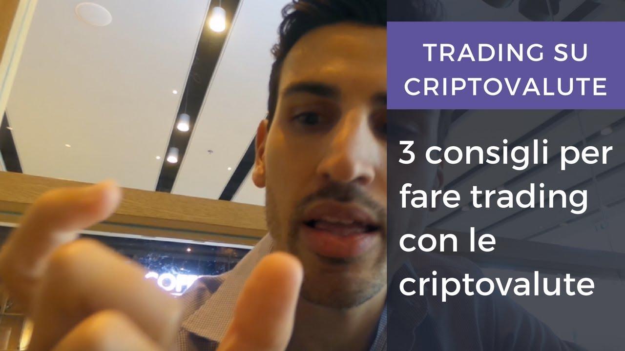 fare trading con criptovalute