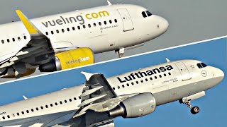 SHARKLETS VS. NO SHARKLETS? Airbus A321, A320 and A319 | Plane Spotting Compilation | ✈