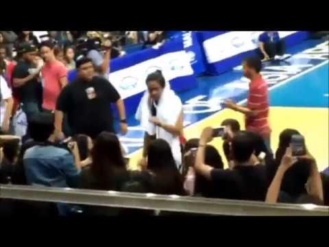 Kathniel Offcam Sweet moments at Kapamilya Playoffs