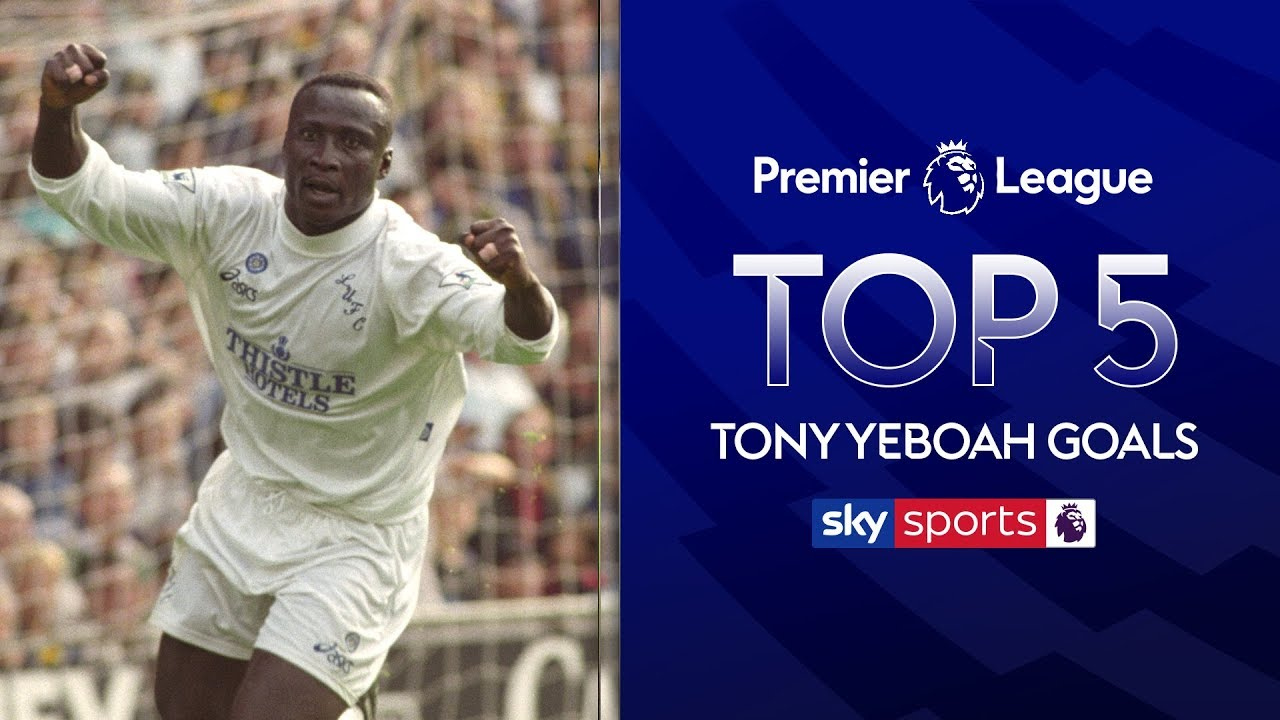 Tony Yeboah's Greatest Goals! | Feat. Volley vs Liverpool and wondergoal vs Wimbledon!