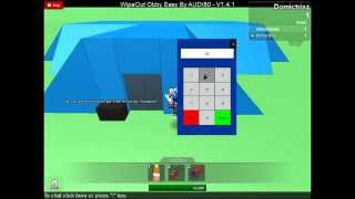 Roblox Wipeout: The code for opening the Locked door.