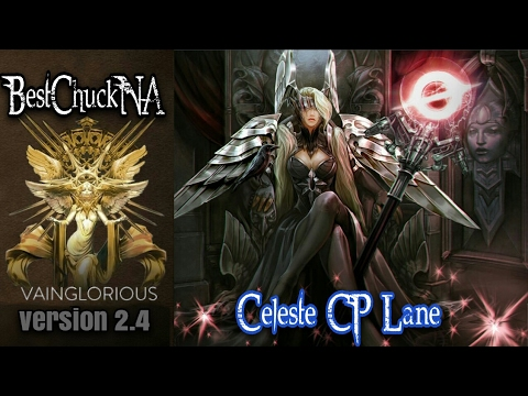 BestChuckNA | Celeste CP Lane - Vainglory hero gameplay from a pro player (2.3)