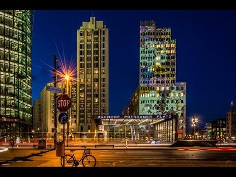 Driving in Berlin Nightview | 200 kmph on Berliner Ring | Gopro
