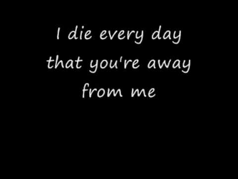 My Darkest Days - Without You lyrics