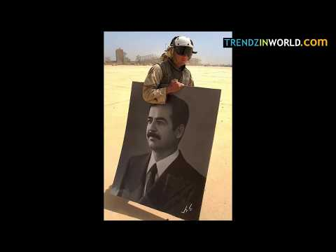 US Soldiers Cried When Saddam Hussain was Hanged   They Have Tears in Eyes