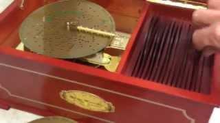 Mr. Christmas Music Box demo Video