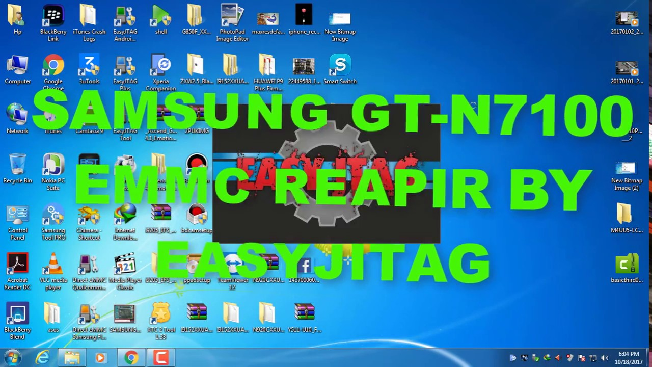 SAMSUNG GT-N7100 BOOT REPAIR BY EASYJITAG by asik gsm