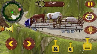 Offroad Zoo Animal Truck Simulator Game - Kids Gameplay || Animal Truck Transport Racing Games