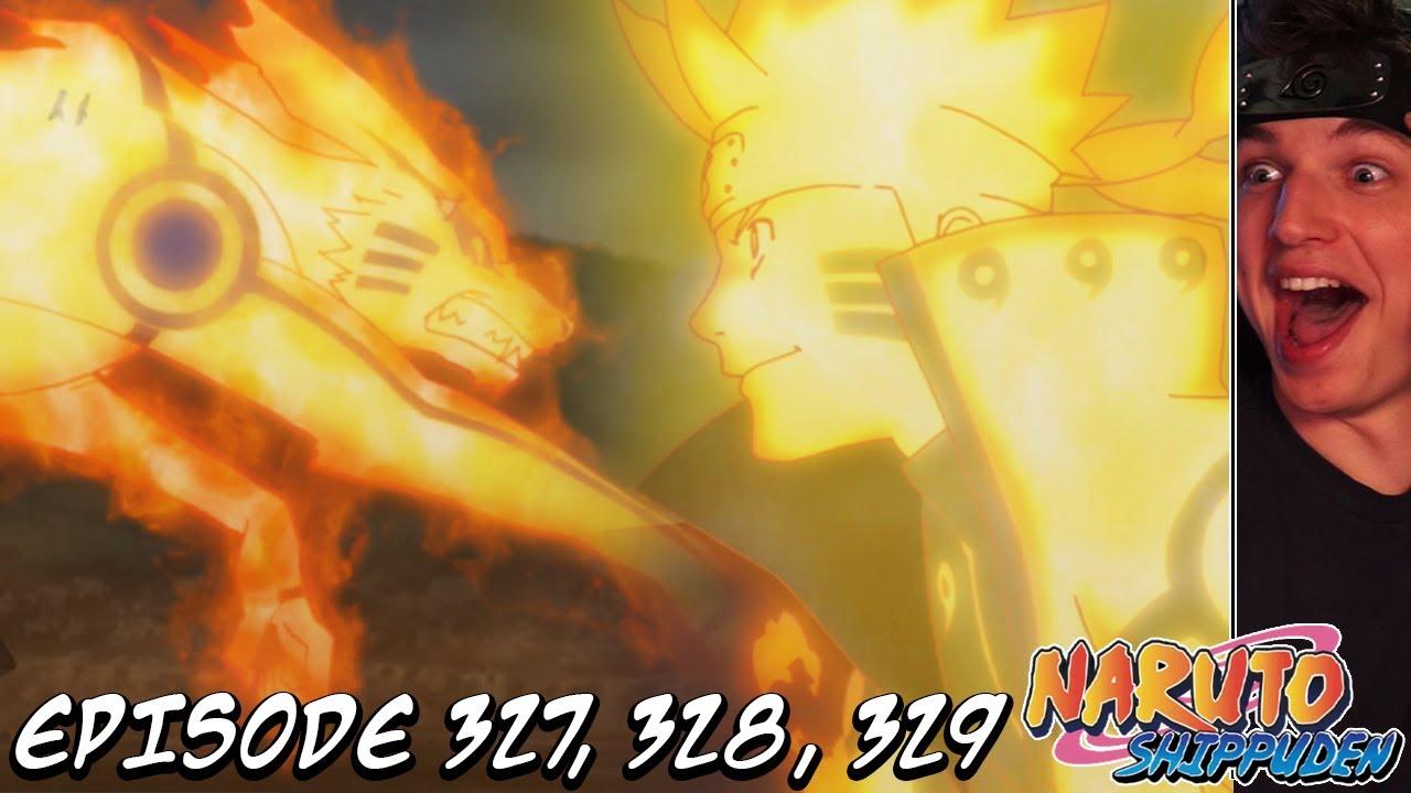 Download NARUTO'S FINAL FORM?! KURAMA TEAMS UP! | Naruto Shippuden REACTION Episode 327, 328, 329