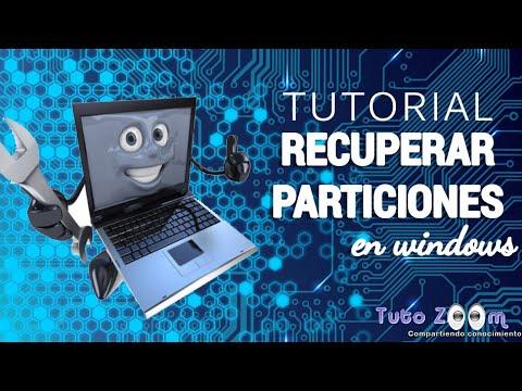 Tutorial Recuperar Particiones En Windows (TestDisk) Tutorial How To Recover Windows Partition