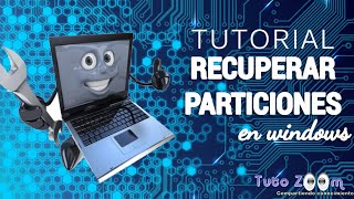 tutorial recuperar particiones en windows testdisk