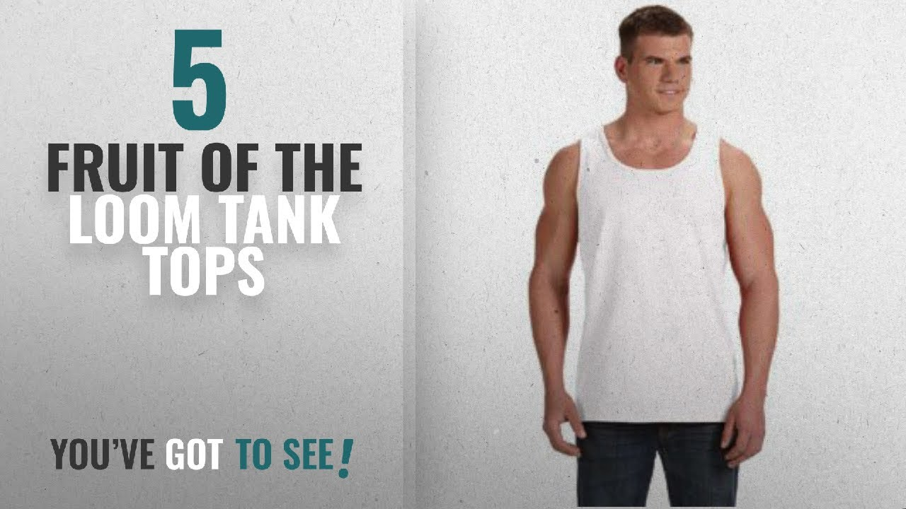 7736cd6e36ba9 Top 10 Fruit Of The Loom Tank Tops  Winter 2018    Fruit of the Loom ...