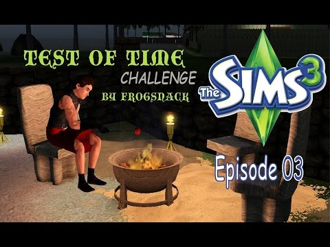 Let's Play the Test of Time Challenge Episode 03: The Saulson Family Sims 3