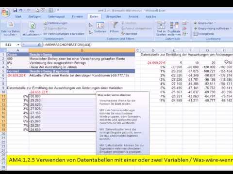 Umsatzprognose mit dem Szenario-Manager - Excel 2010 für Controllerиз YouTube · Длительность: 5 мин19 с