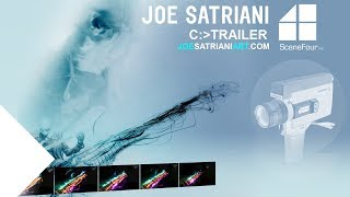 Joe Satriani to Release Art Collection Crafted from Guitar Performance (OFFICIAL)