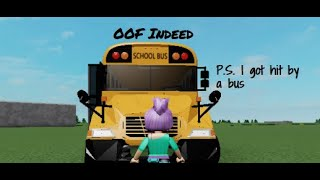 On the Struggle Bus in Roblox ~ First Time playing Roblox.