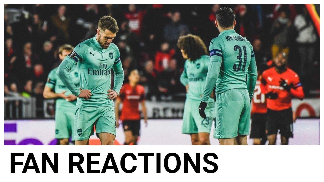 10-man Arsenal beaten 3-1 at Rennes in Europa League