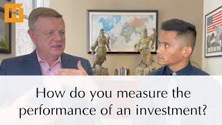 How do you measure the performance of an investment?