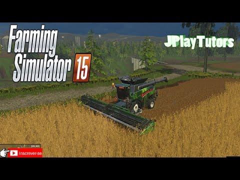 Farming Simulator 2015 - Mega Colheitadeira New Holland