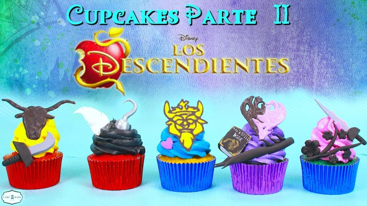Parte 2 Cupcakes Los Descendientes 2 Ben Harry Gil Lonnie