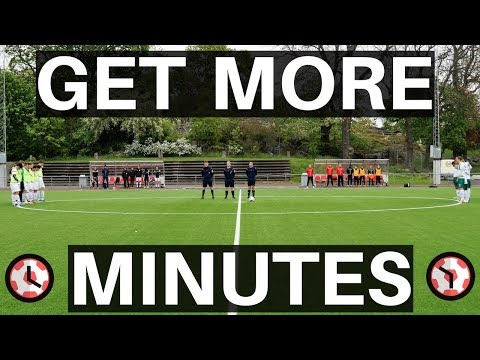 How To Start Getting More Game Time In Soccer