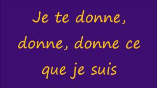 Leslie & Ivyrise - Je te donne lyrics