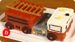 How-to: Fire Engine Cake  Food &amp Cooking  Babble