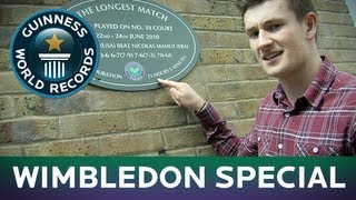 Anyone For Tennis?!  Oli White's Wimbledon Records Special - Guinness World Records