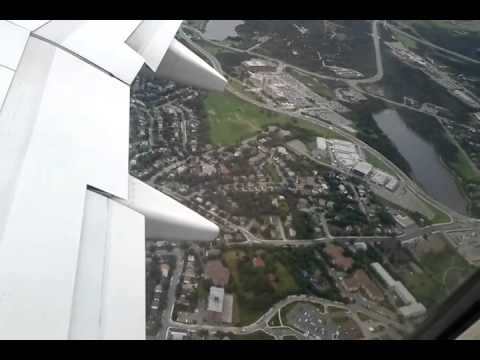 Taking off from St.Johns International Airport.