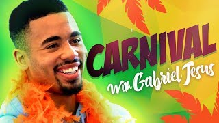 CARNIVAL AT THE ETIHAD WITH GABRIEL JESUS | MAN CITY