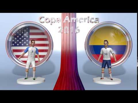 USA - Colombia Copa America 2016
