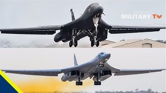 Deadly America B-1 vs Tu-160 Bomber Russia - What is Different?