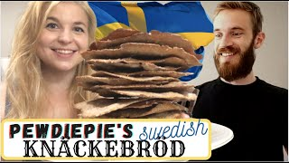 PRO CHEF BAKES PEWDIEPIE&#39S KNÄCKEBRÖD I Swedish Classic Recipe I Step by Step Tutorial