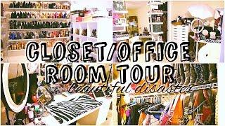 Baixar CLOSET/OFFICE ROOM TOUR: a beautiful disaster | ALHSANDER