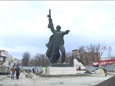 Начался ремонт площади «Сорокалетия Победы»