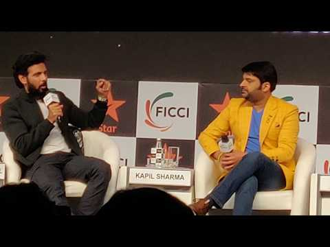 Kapil Sharma and Shilpa Shetty Introduction at FICCI FRAMES 2019