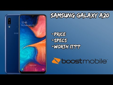 Samsung Galaxy A20 Coming To Boost Mobile// Price And Specs Plus Thoughts