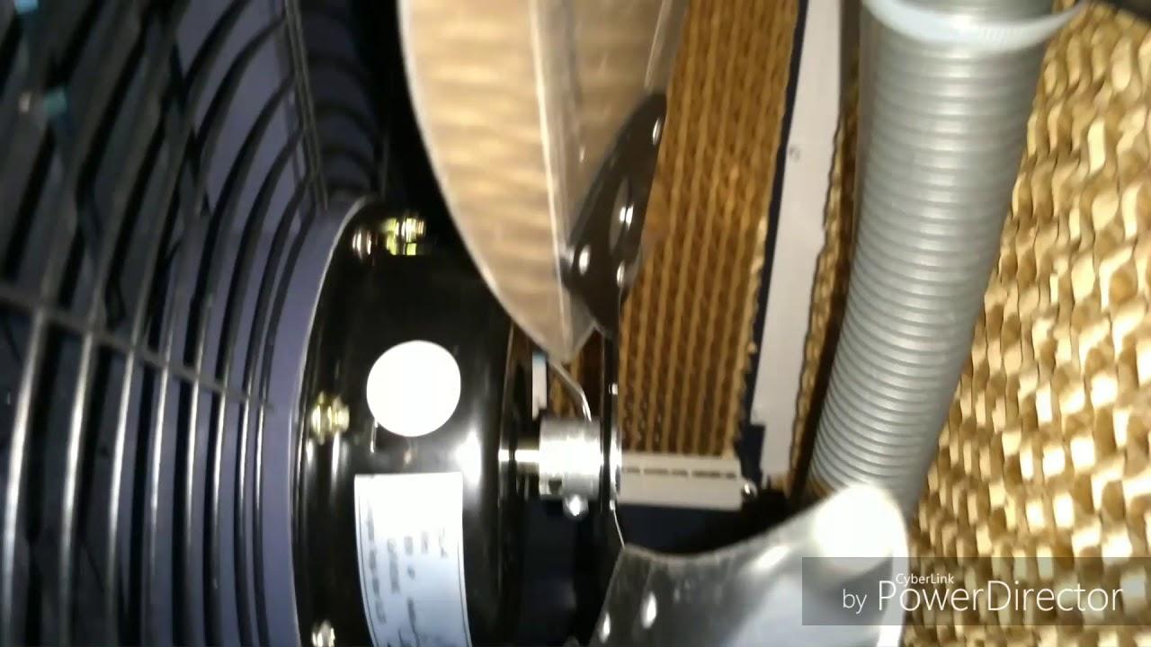 CLI-01 VENTISOL primeiras impressões (não foi das melhores) Climatizador industrial