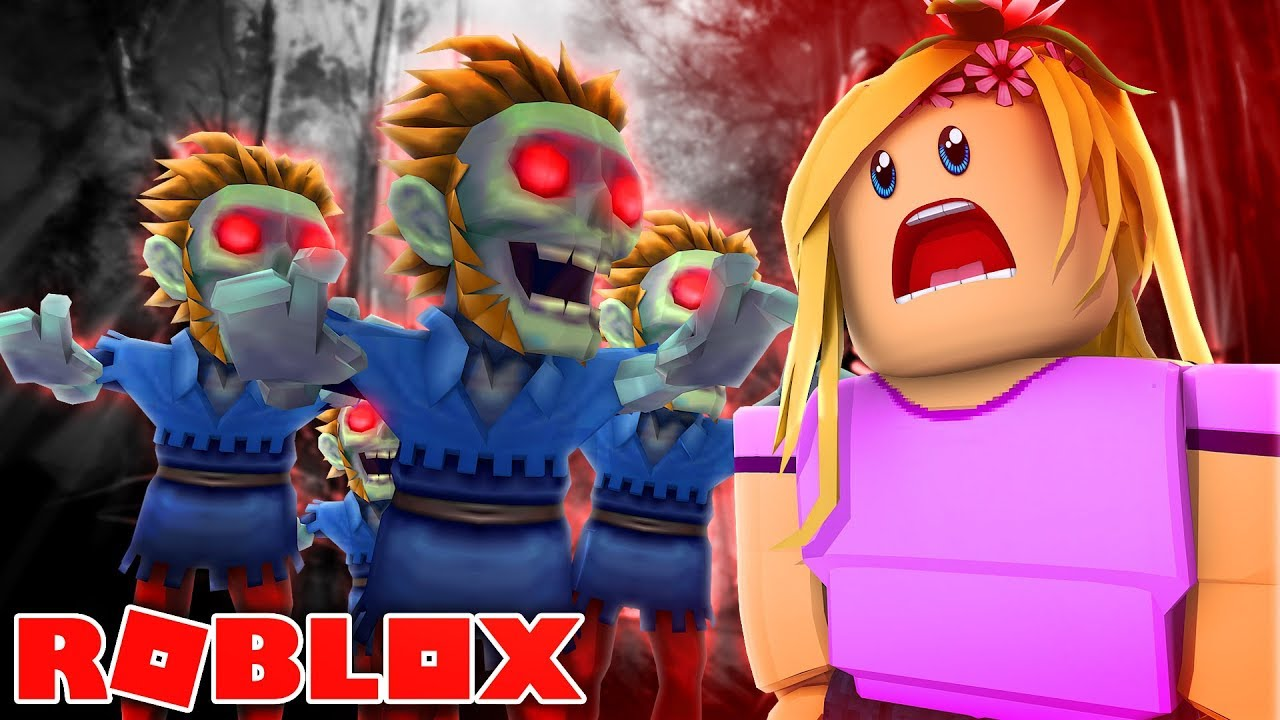 Stranded On Zombie Island Roblox Little Kelly Youtube