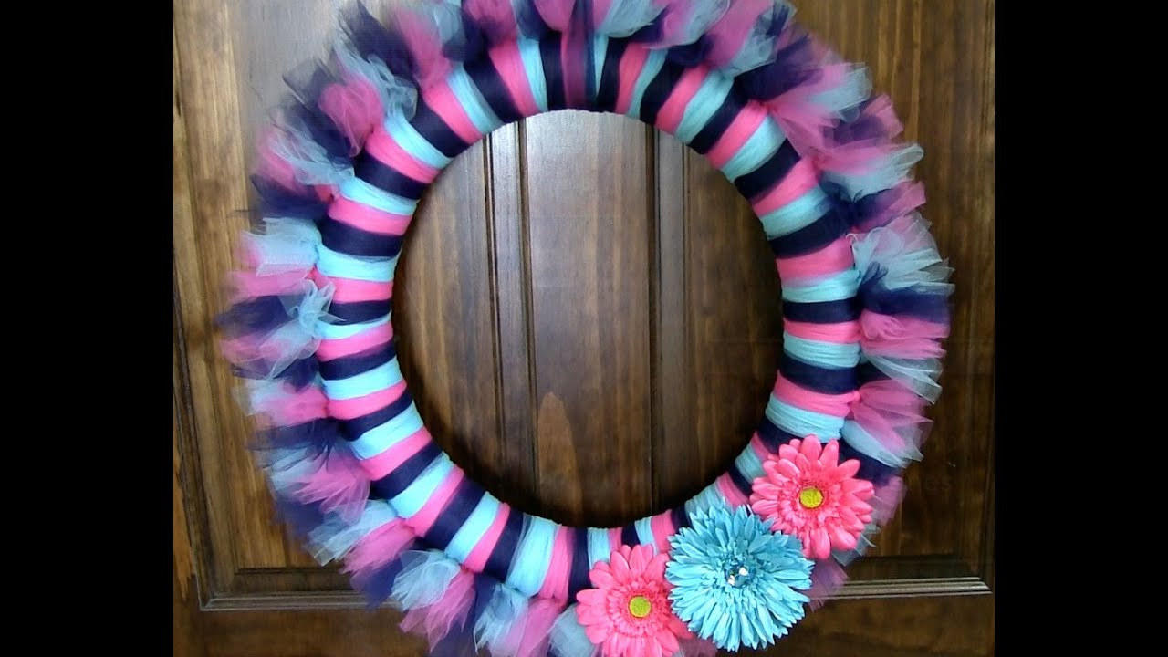 Spring Door Wreaths Diy How To Make