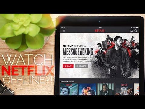 Download Netflix videos to watch offline | Quick Tips - YouTube
