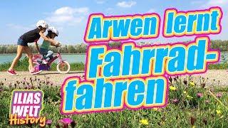 ILIAS WELT HISTORY - Arwen lernt Fahrrad fahren