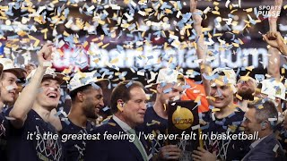 Virginia players on the team's remarkable journey winning a national championship