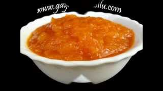 Orange Marmalade -Natural Fruits - Indian Recipes - Andhra Telugu Vegetarian Food Cuisne