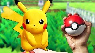 AM PRINS un Pikachu ! Pokemon Let's go
