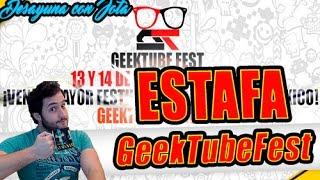 GEEKTUBEFEST y los eventos estafa - Desayuna con Jota | League Of Legends - Jota Einoow