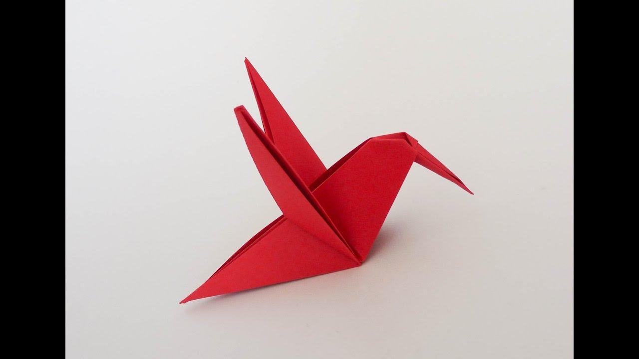 colibri origami isa klein viyoutube. Black Bedroom Furniture Sets. Home Design Ideas