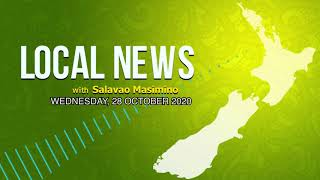 NZ Local News (28 OCT 2020) - Radio Samoa