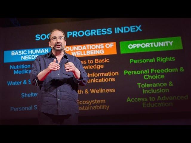 Lo que el Índice de Progreso Social puede revelar sobre tu país, Michael Green en TED