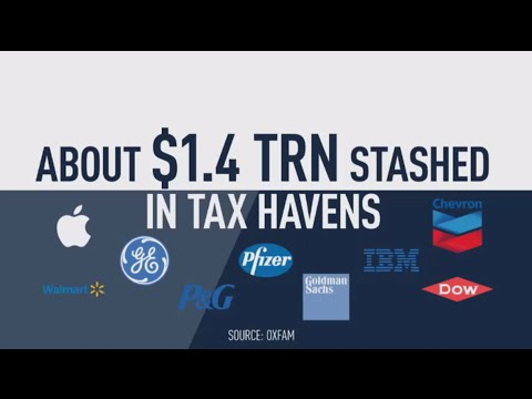 Top 50 US firms stash $1.4 trn in offshore tax havens - Oxfam Mp3
